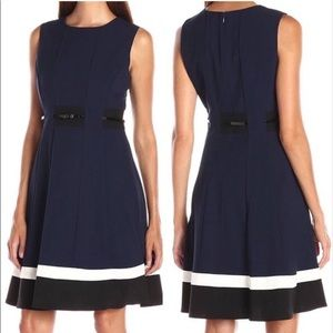 Calvin Klein Navy blue dress size 2